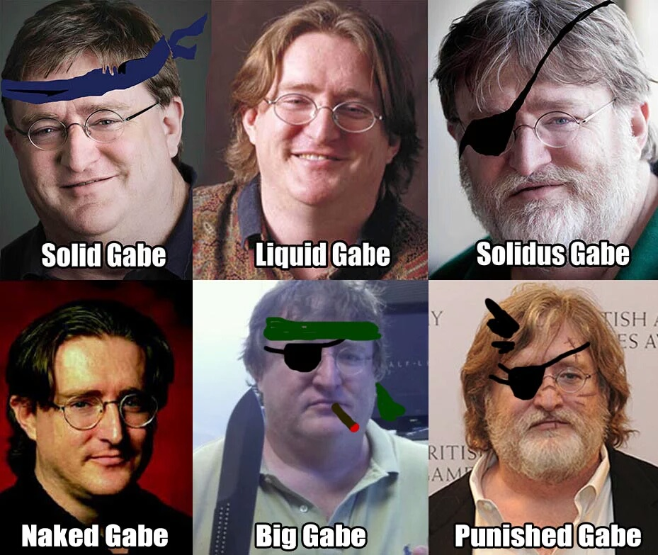 234 gabe newell know your meme