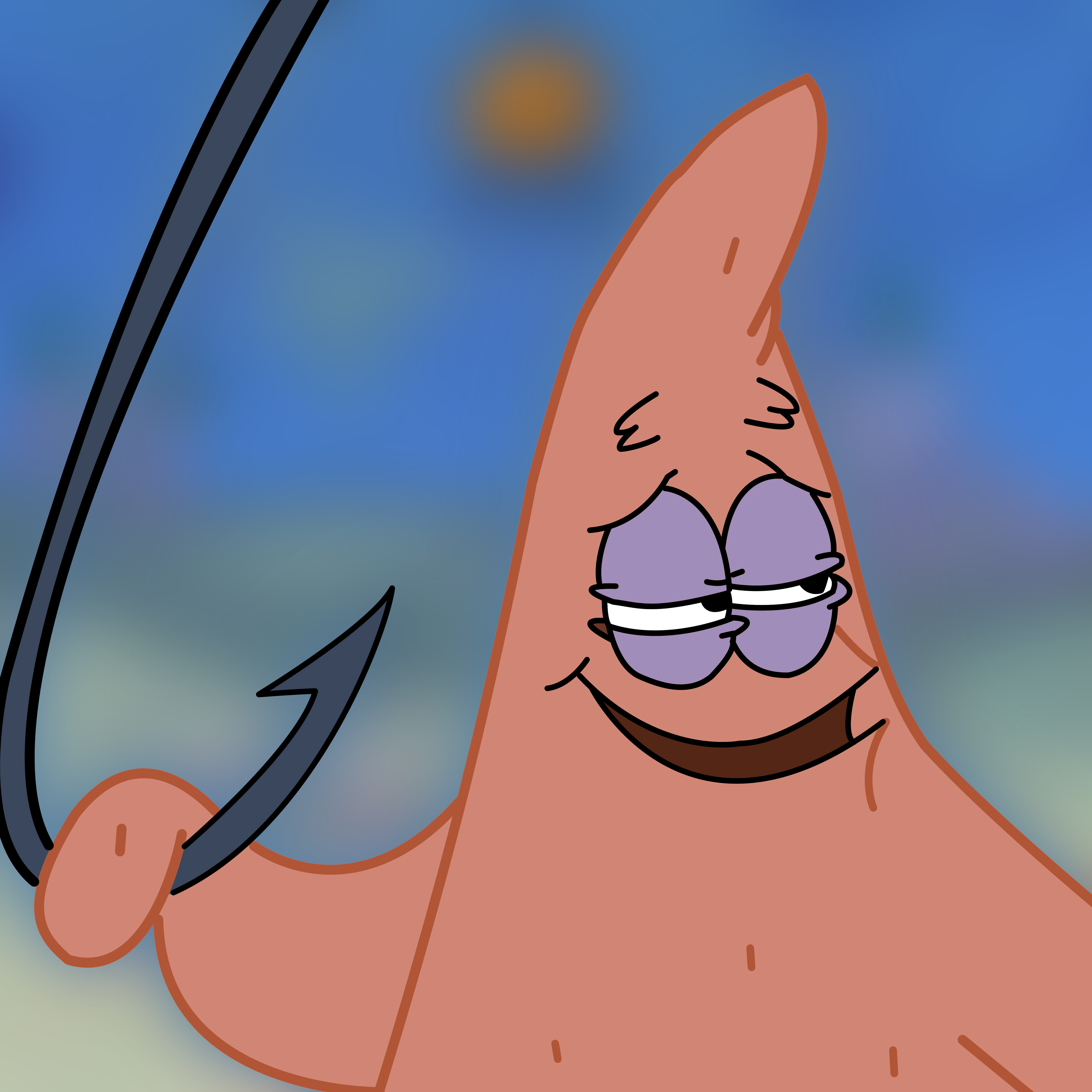 Patrick bait 5000 bait this is bait know your meme patrick star face nose cartoon mammal vertebrate head eye sky mouth smile fictional character voltagebd Gallery