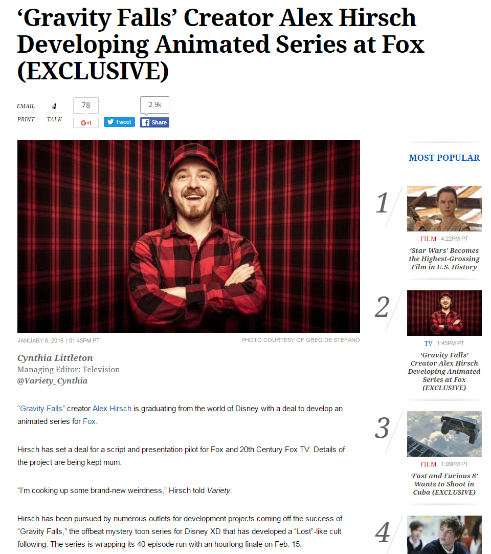 alex hirsch in
