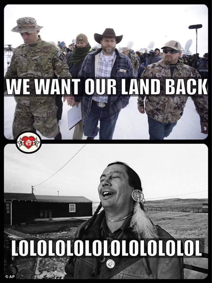5b7 whose land? 2016 malheur national wildlife refuge standoff,Meme Land