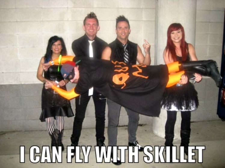 764 i can fly with skillet know your meme