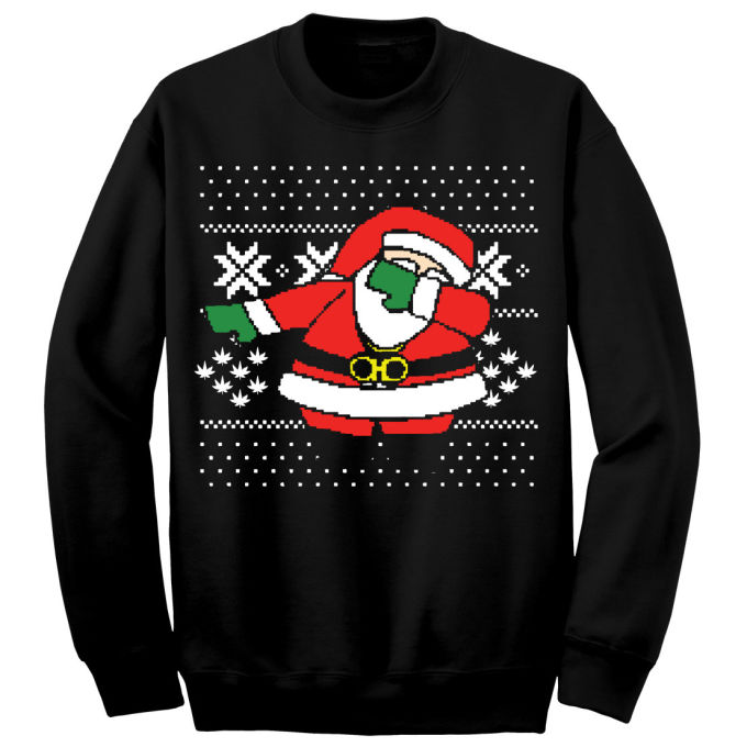 The Dabbin Santa Sweater | The Dab | Know Your Meme