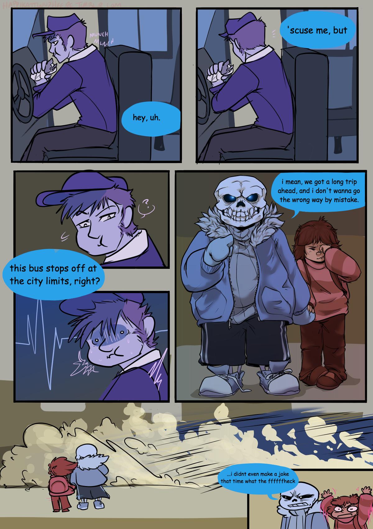 spooky scary sans