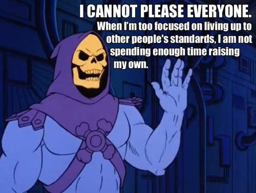 2da i cannot please everyone skeletor know your meme