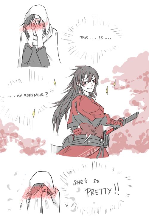 yang and raven meet