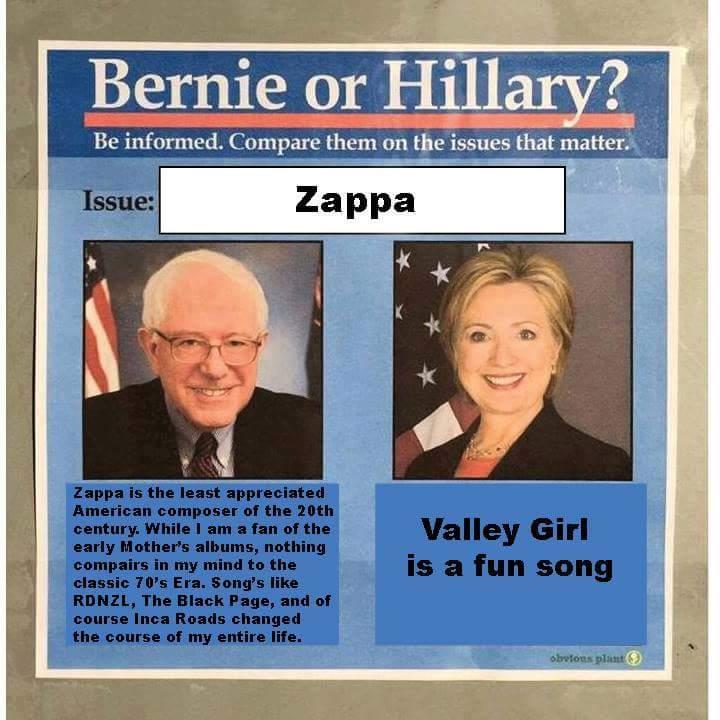 0e1 bernie or hillary? know your meme