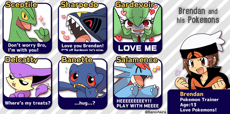 3df brendan's team pok�mon know your meme,Pokemon Know Your Meme