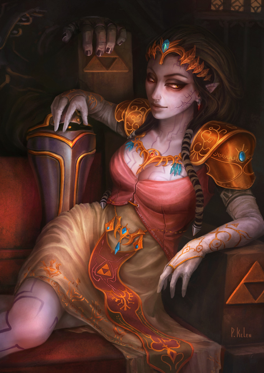 Possessed Zelda - Twilight Princess | The Legend of Zelda