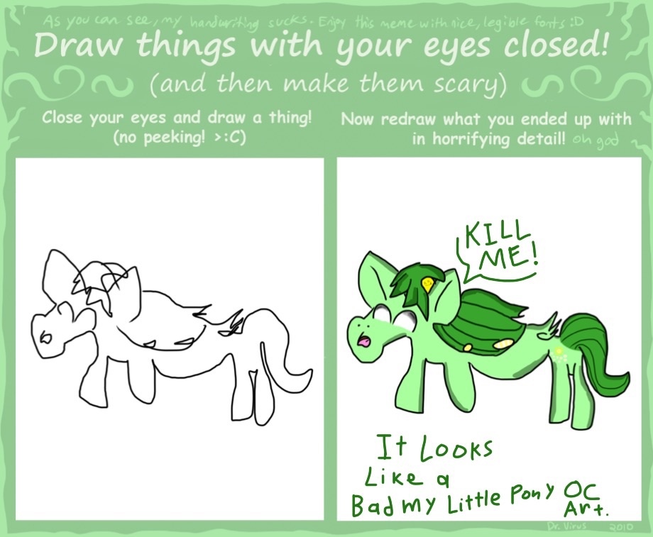 289 new my little pony oc looks like a bad drawing of my original