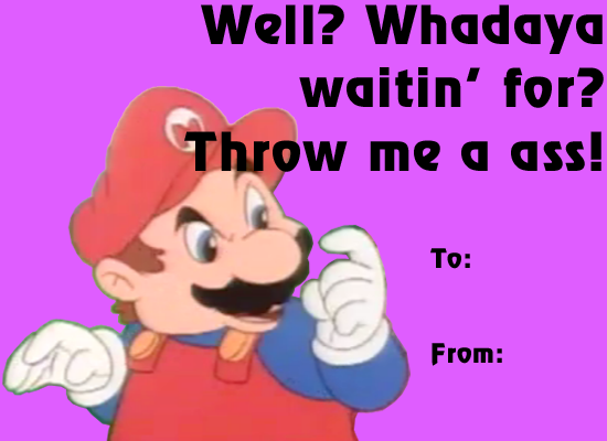 Mario Valentines Day Ecards – Mario Valentines Cards