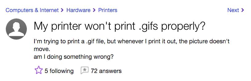 my printer wont print