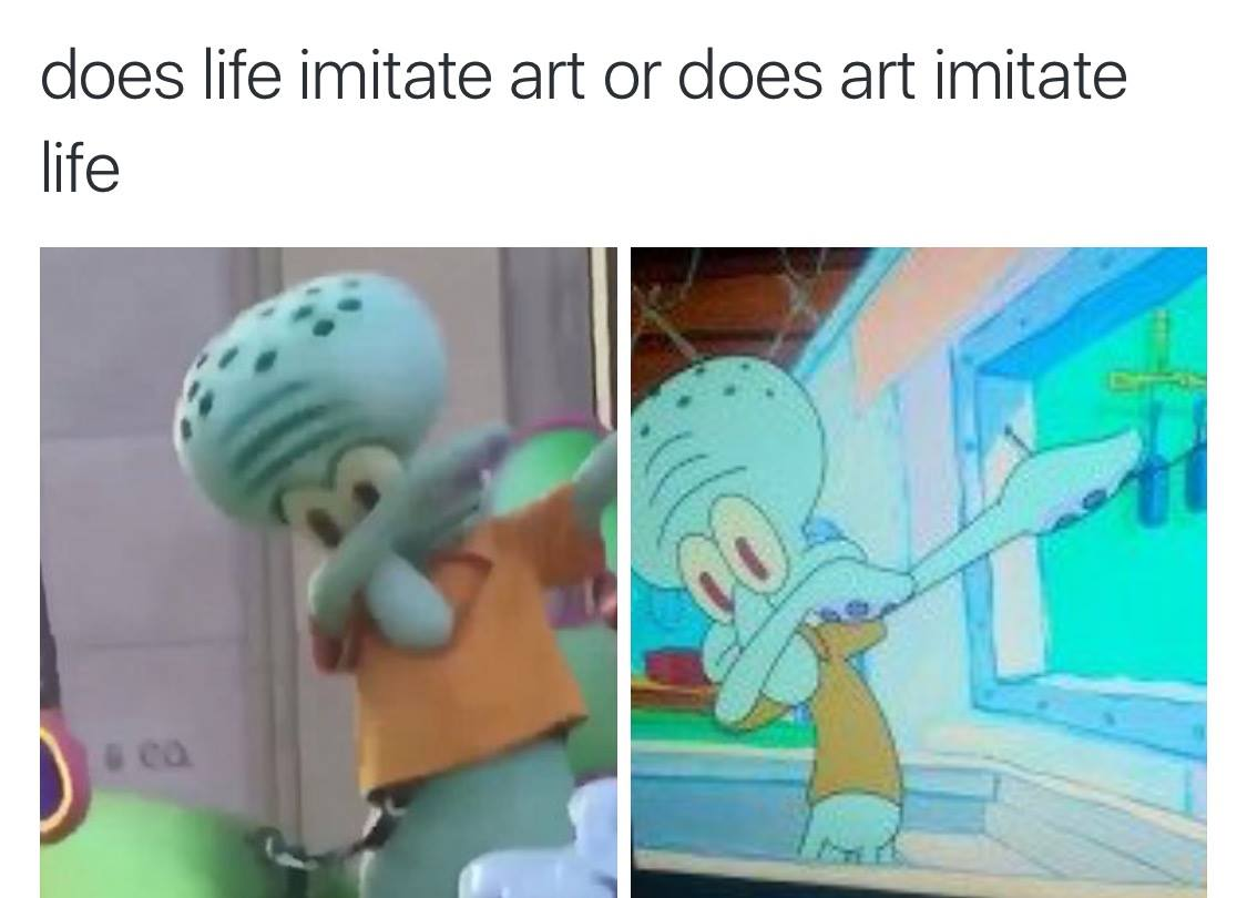 does art really imitate life It's the art-imitating-life perception that draws us in the problem comes when we become more than watchers we become voyeurs, peering into others' lives that are often unhealthy, dysfunctional, and sometimes downright crazy.