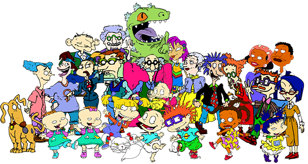 Chuckie Finster Tommy Pickles Angelica Kimi Susie Carmichael Cartoon Art Fictional Character