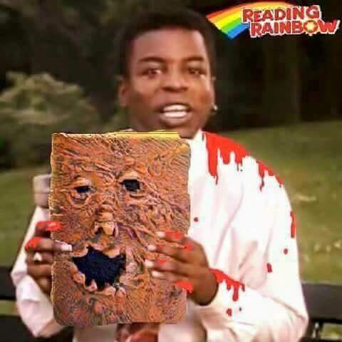 9aa reading rainbow, series finale know your meme
