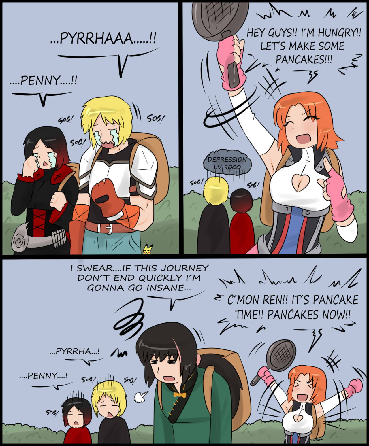 Stay Strong Ren RWBY Know Your Meme