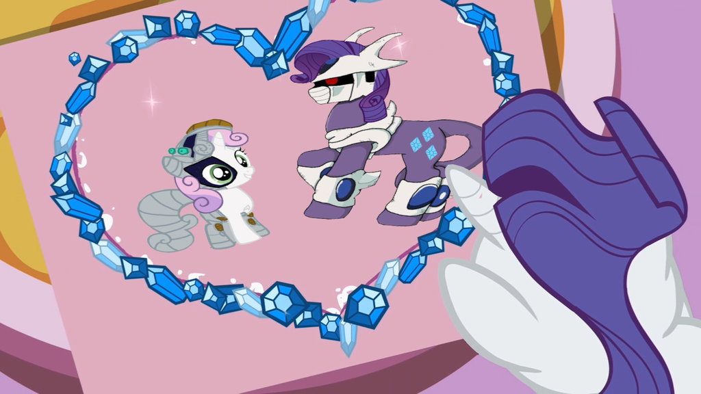 Sweetie Belle Is Cool But Rarity Is Cooler My Little