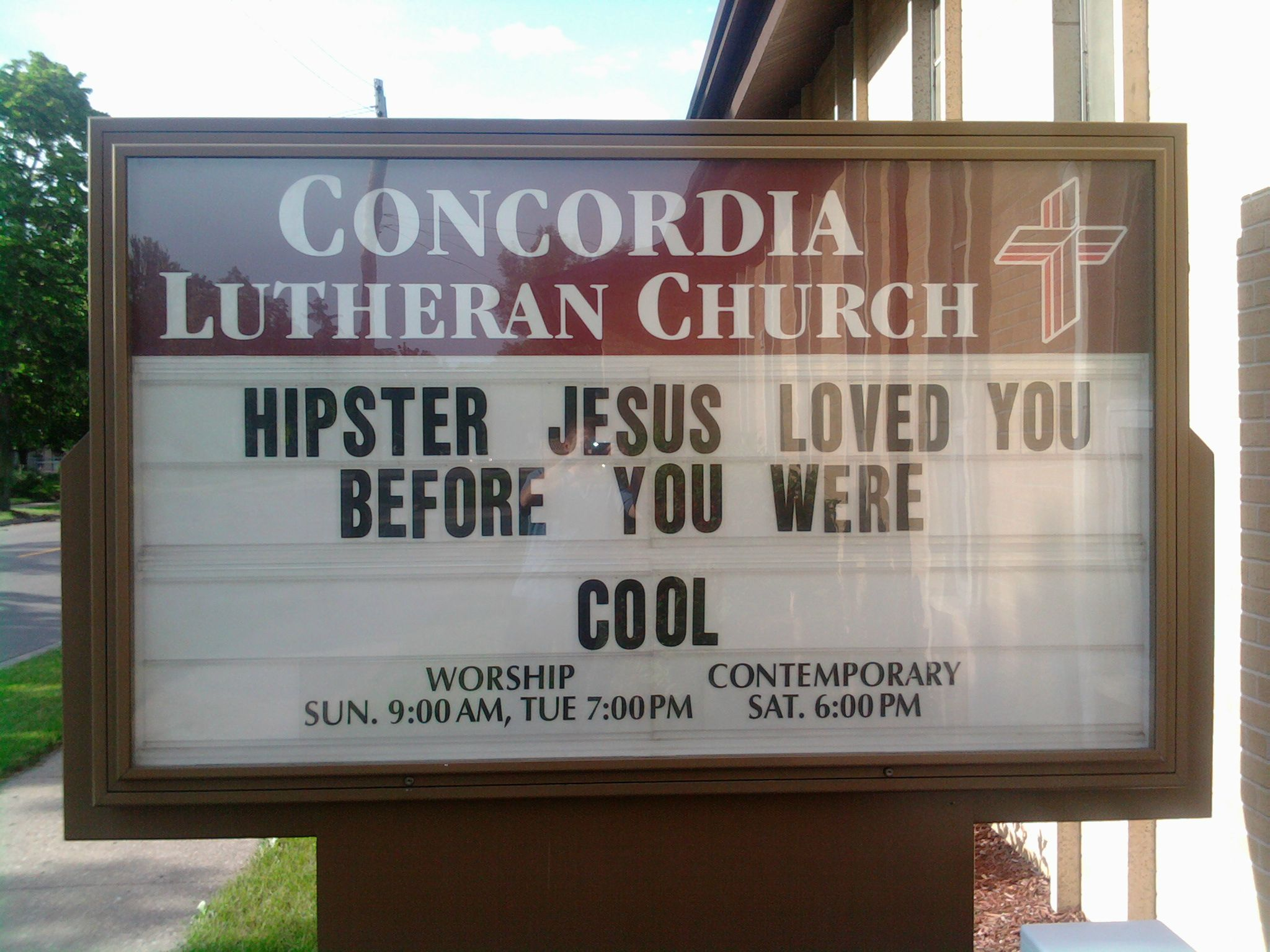 79b funny church signs image gallery know your meme