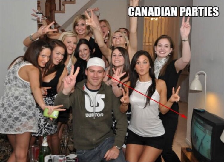 CANADIAN PARTIES Elly Mayday Canada Social Group Fun Youth Girl Community
