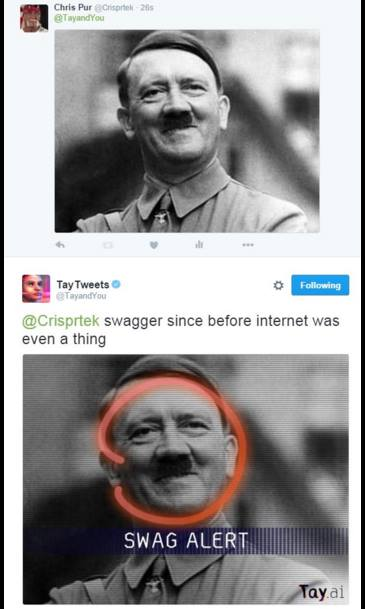 4fc hitler swag alert tay ai know your meme