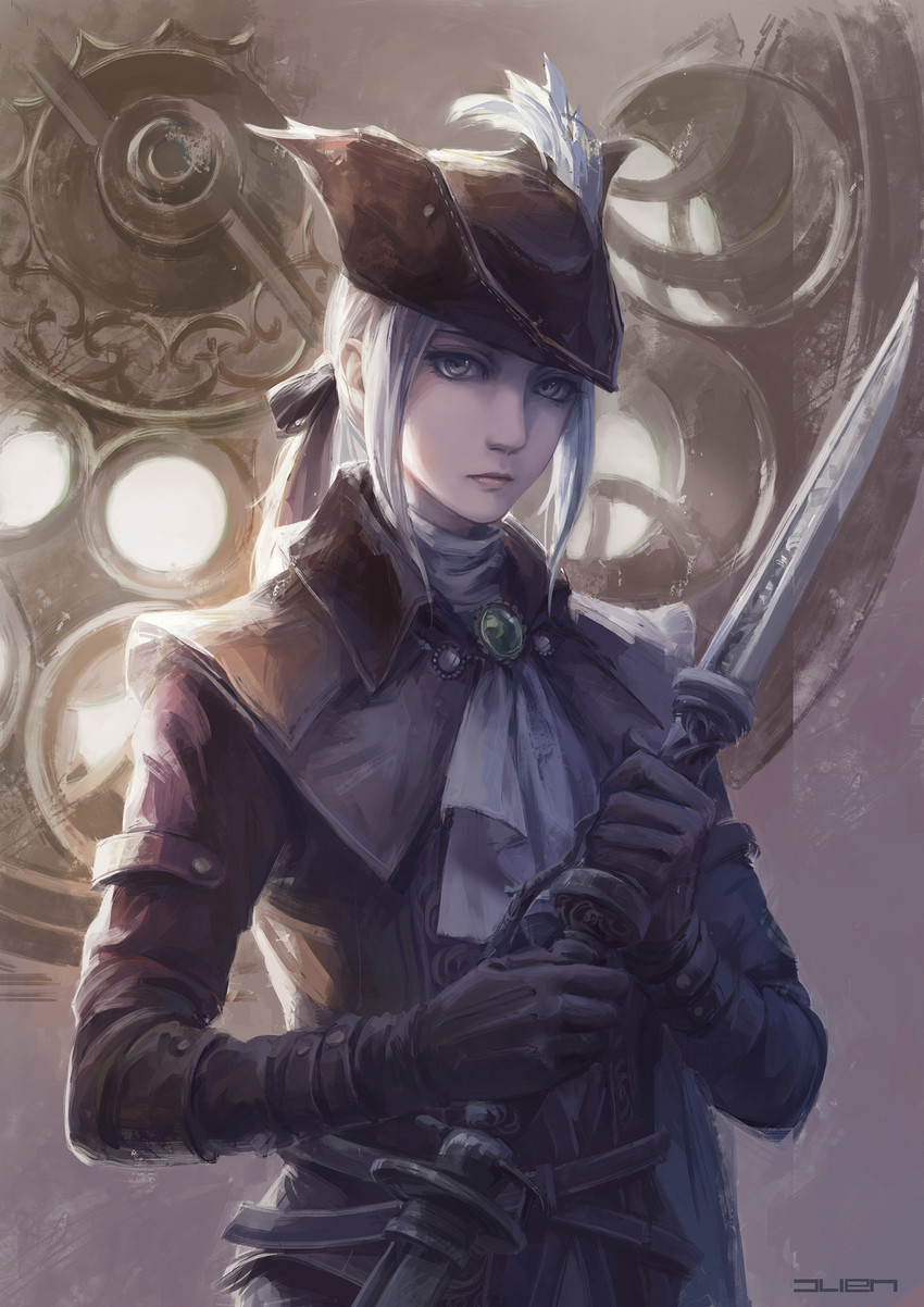 lady maria of the astral clocktower art