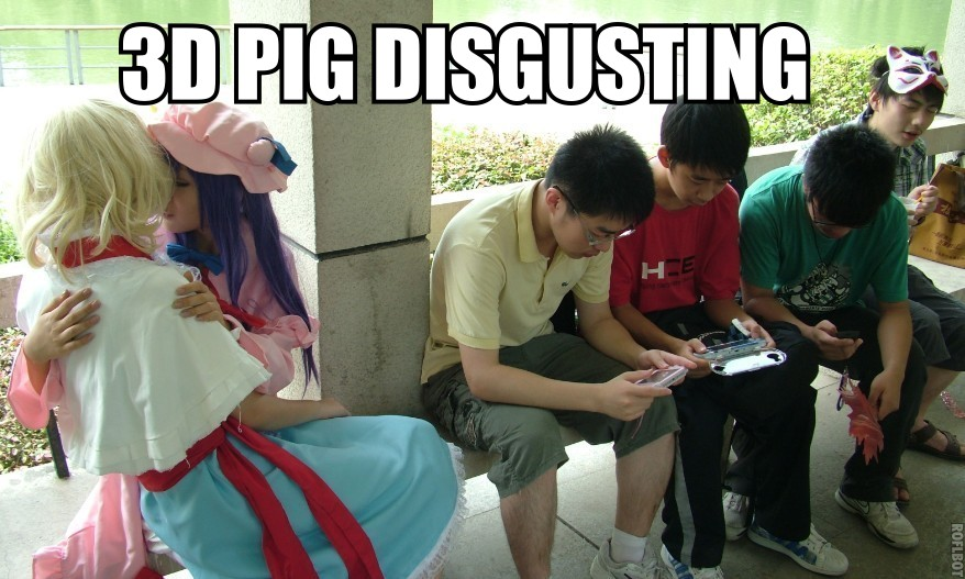 3d Pig Disgusting 3dpd Know Your Meme