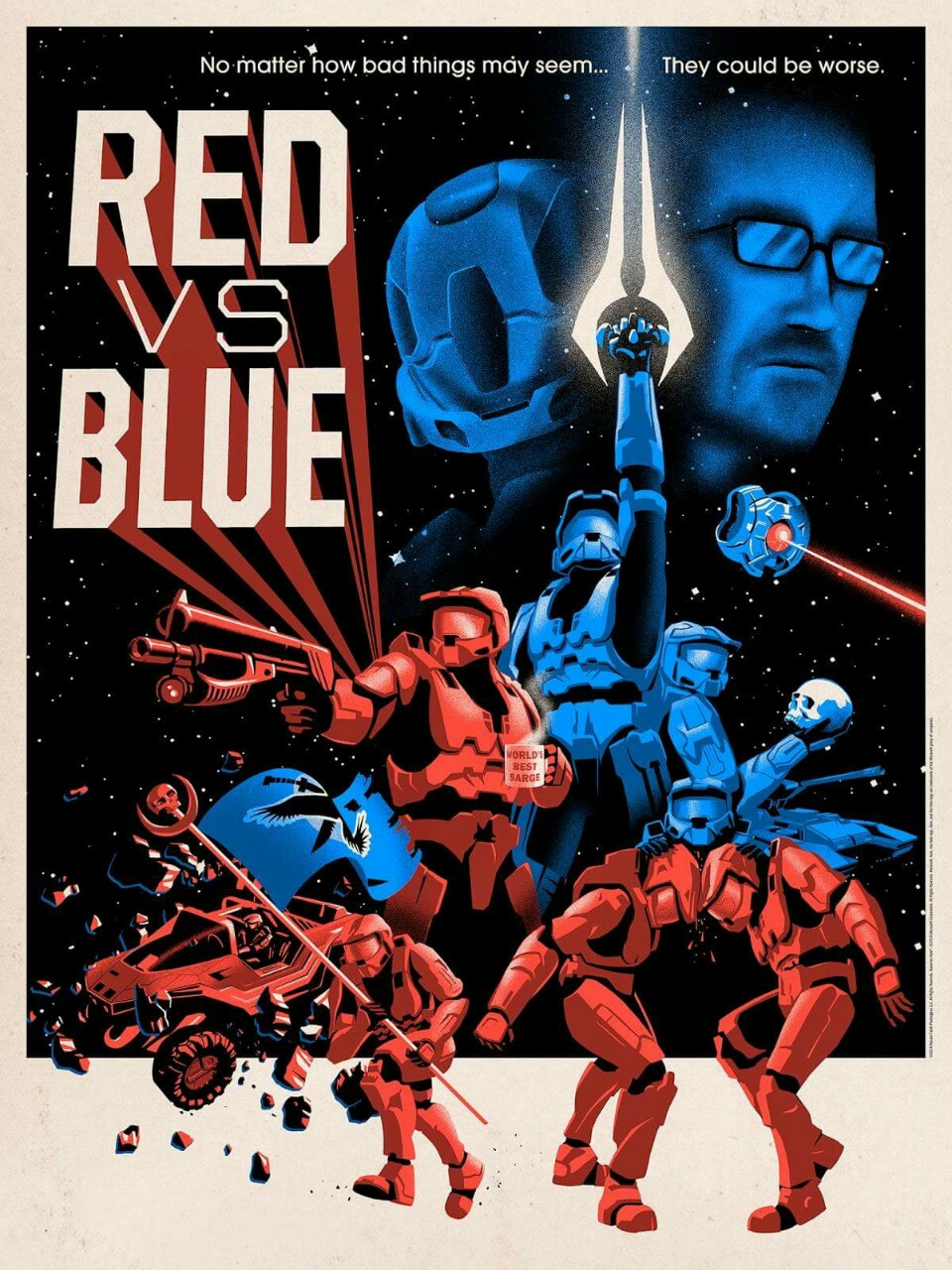 038 red vs blue poster red vs blue know your meme