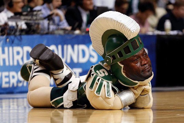 62b everyone who picked michigan state in marchmadness crying michael