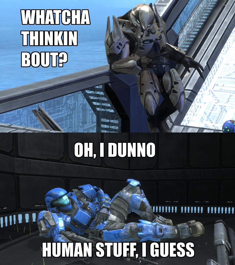 60b halo reach whatcha thinkin bout? know your meme
