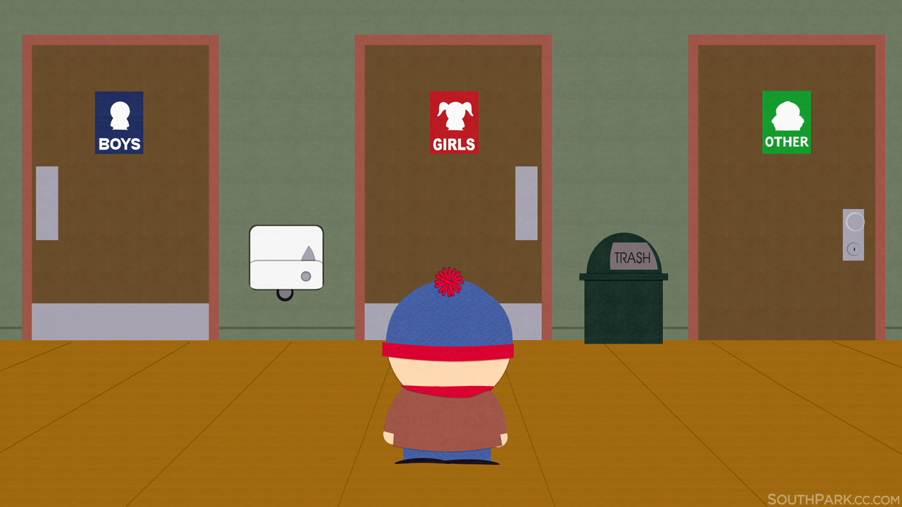 South Park. South Park   Transgender Bathroom Debate   Know Your Meme