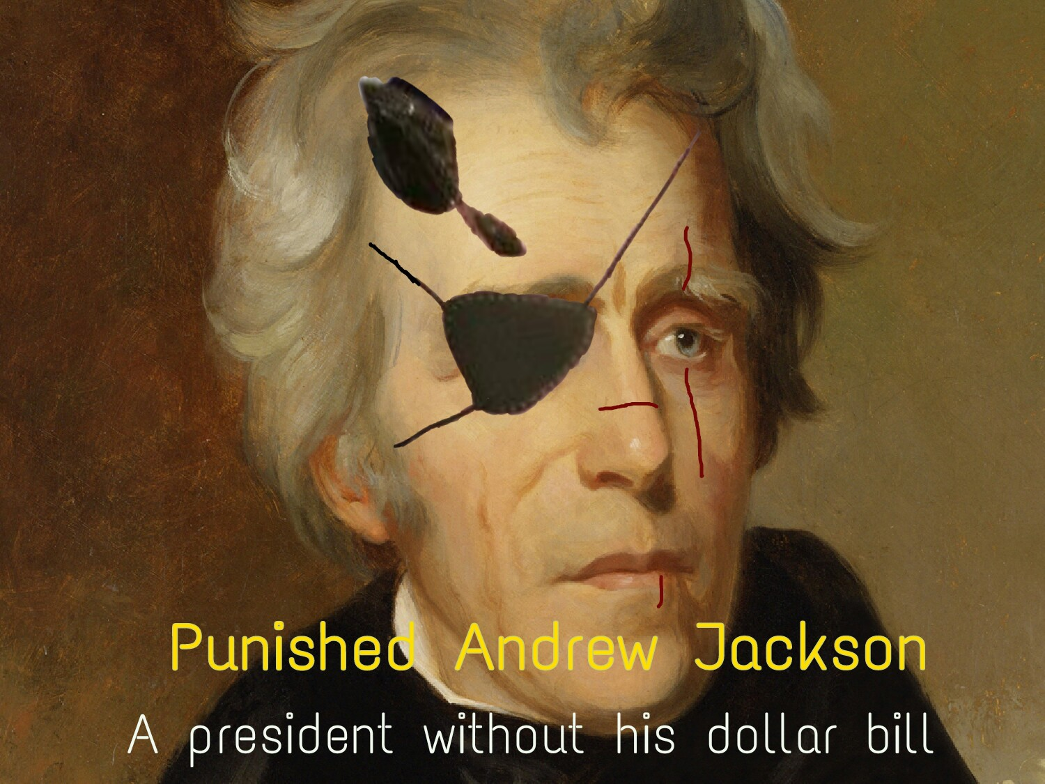 97c andrew jackson punished snake know your meme