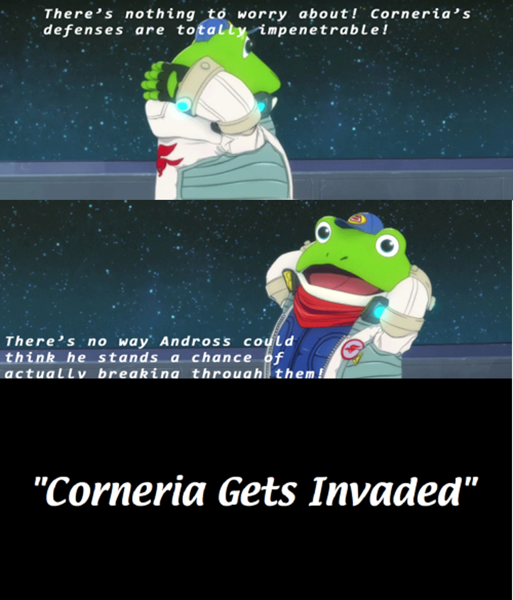 93d is always funny in corneria star fox know your meme