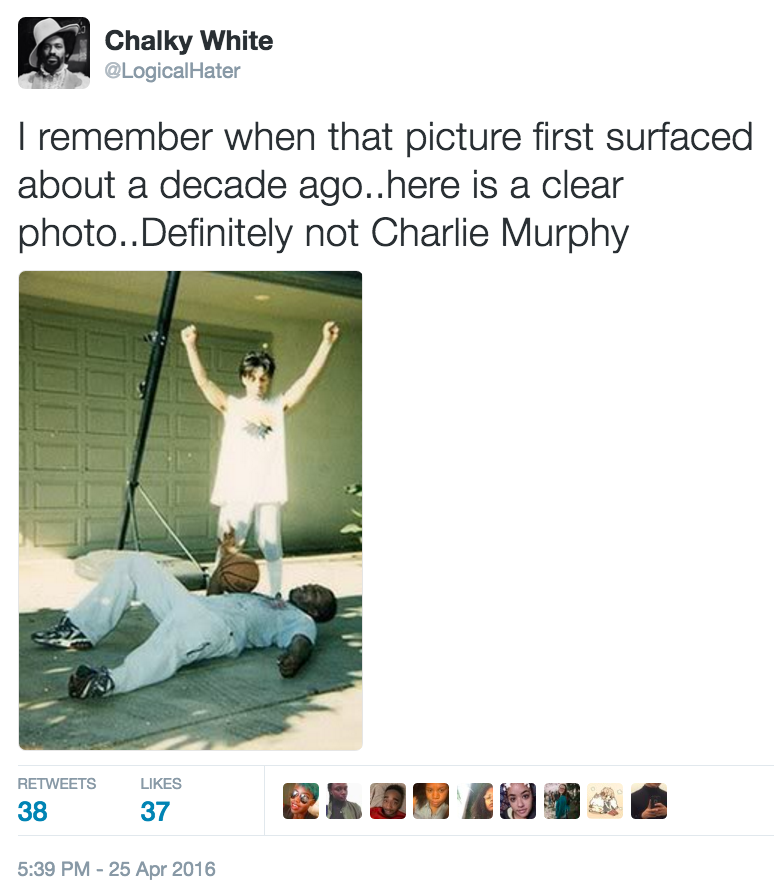 bf7 charlie murphy's true hollywood stories tweet hoax 2 prince