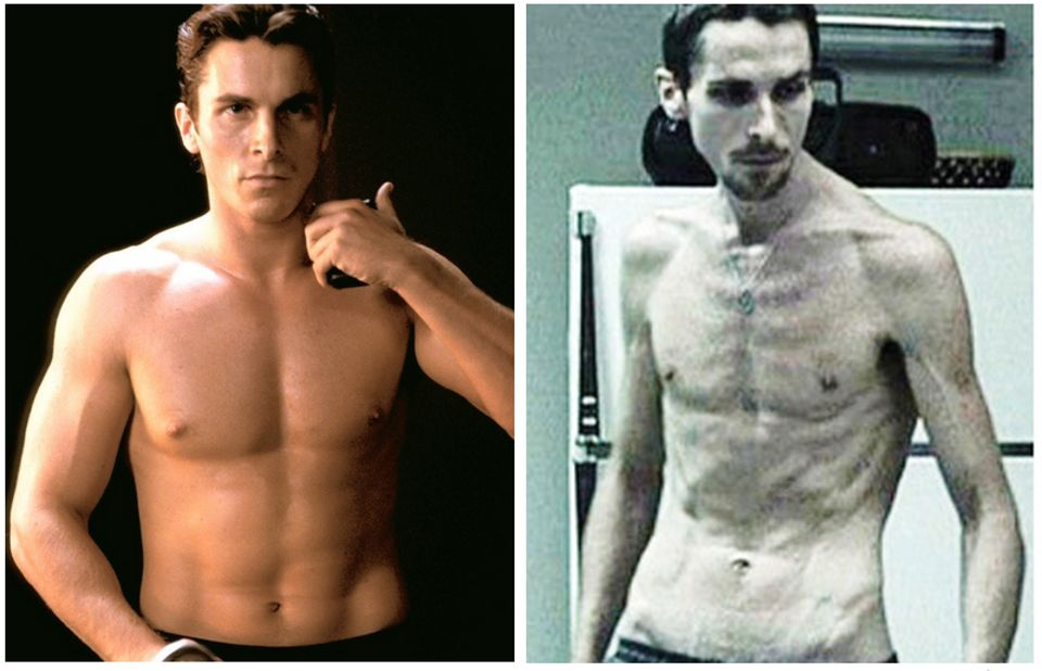 Christian Bale Machinist, Batman  Body Transformations  Know Your Meme