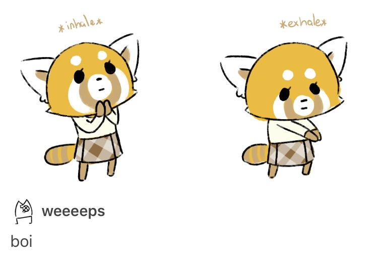 92d retsuko needs her own entry *breath in* boi know your meme
