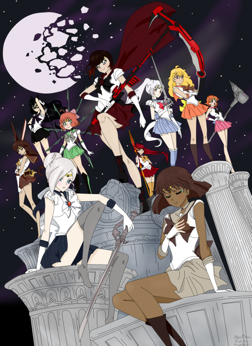 Notes On Shooting Moon >> Sailor Moon Dust | RWBY | Know Your Meme