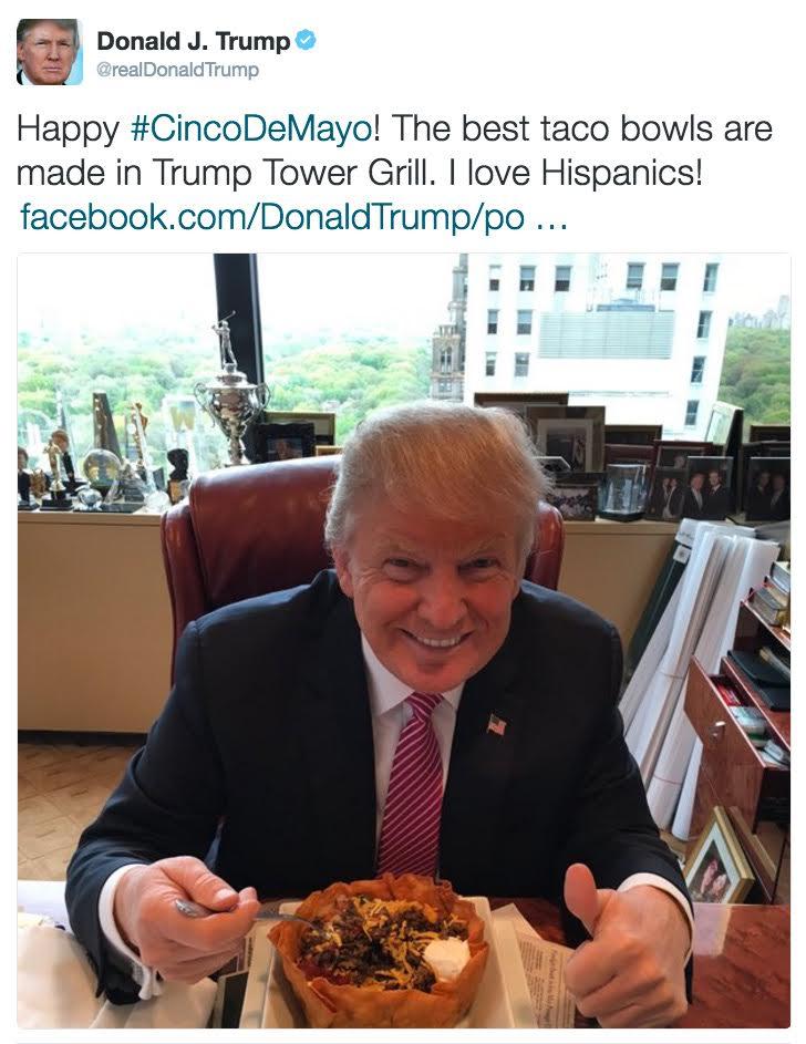 ad2 trump on cinco de mayo donald trump know your meme