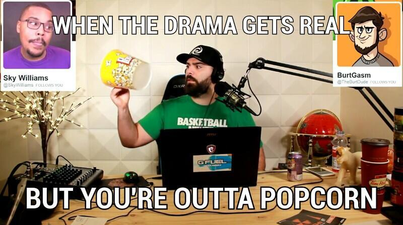 241 when the drama gets real keemstar know your meme
