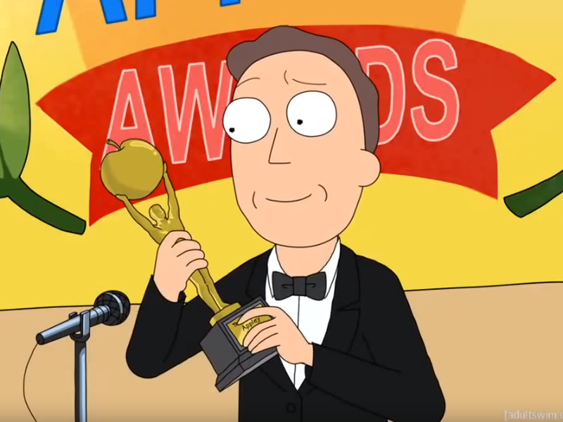 ea9 jerry accepting award jerry is isn't a meme know your meme
