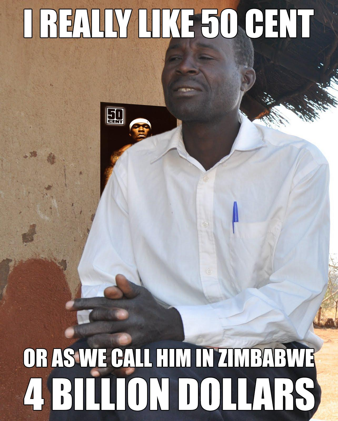 089 50 cent in zimbabwe 50 cent know your meme,50 Cent Meme