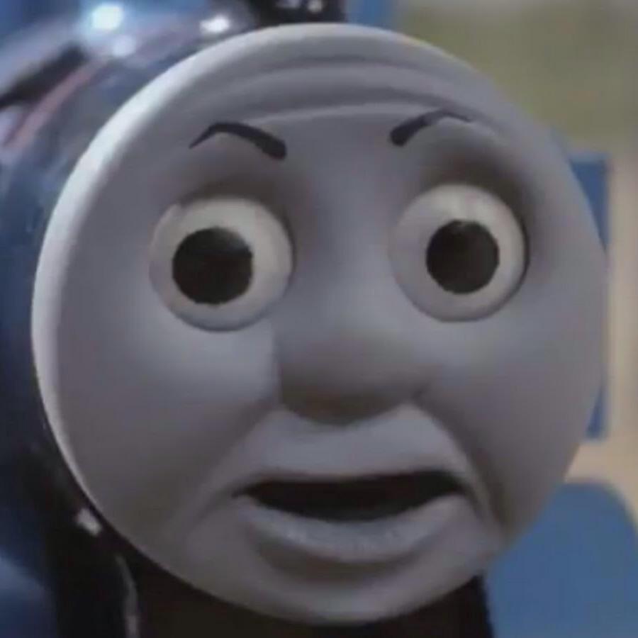 0ee startled thomas thomas the tank engine know your meme