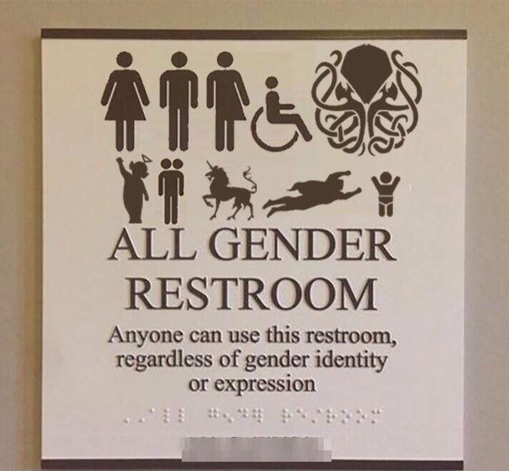 Cthulhu Friendly Facilities. Cthulhu Friendly Facilities   Transgender Bathroom Debate   Know