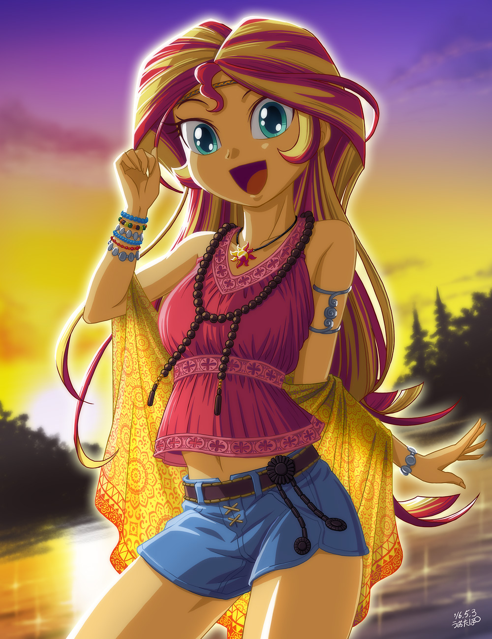 Sunset Shimmer by uotapo My Little Pony Equestria Girls Know Your Meme