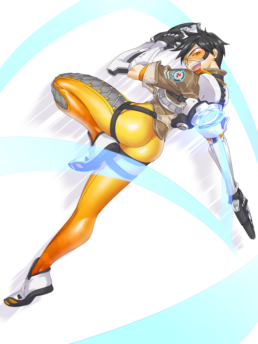 tracer fan art | overwatch | know your meme