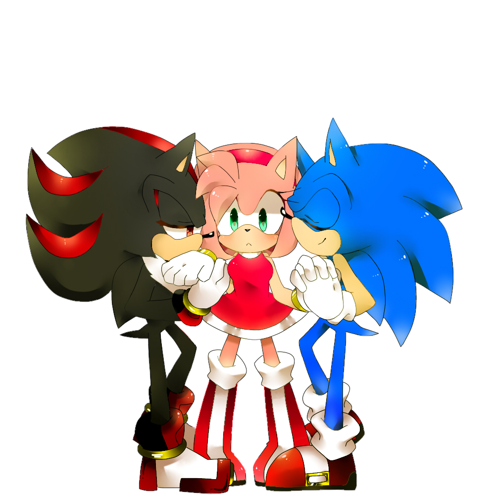Another shadow amy sonic threesome peace by sonic - Sonic et shadow ...