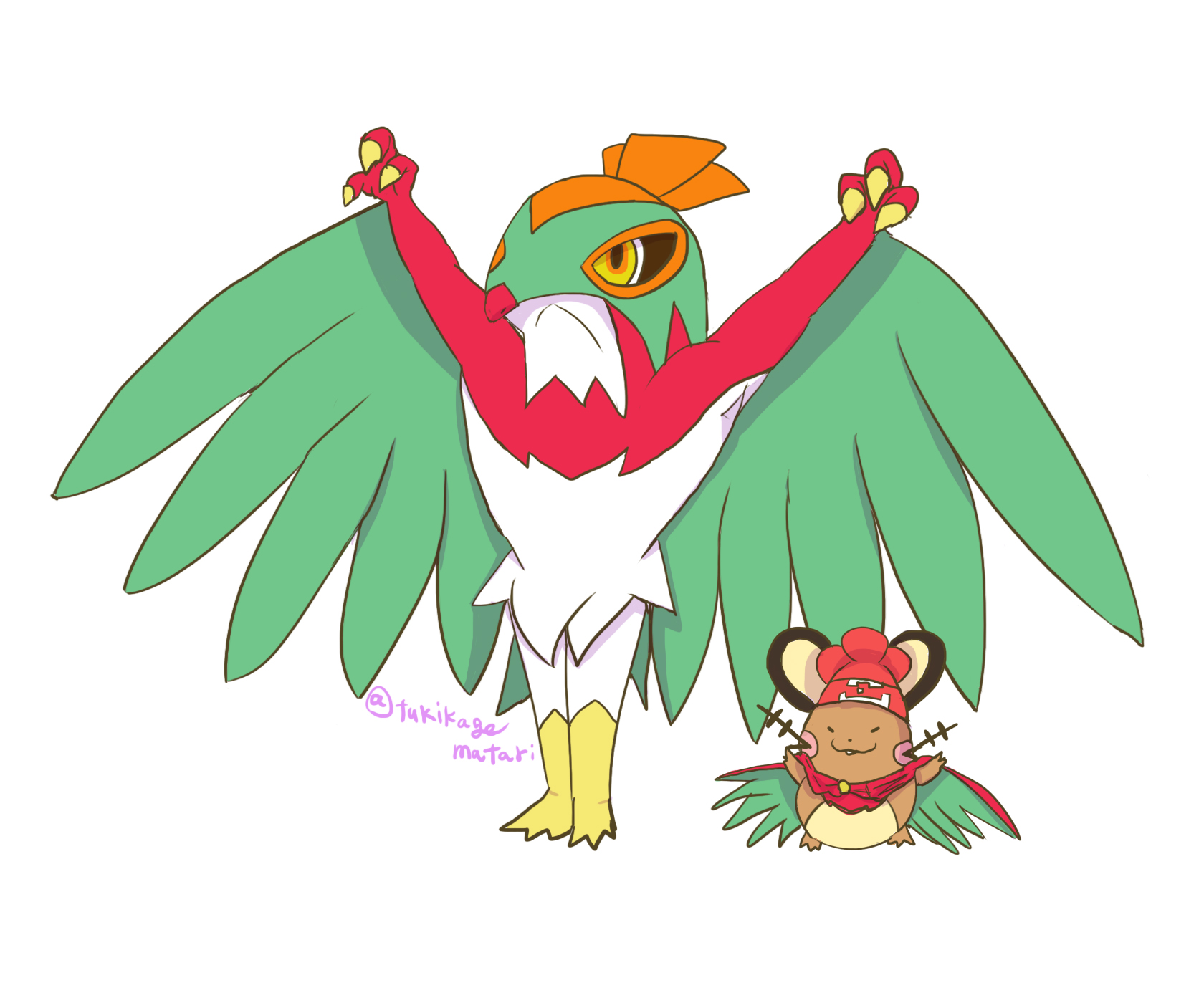 Dedenne Try To Be More Like Hawlucha.