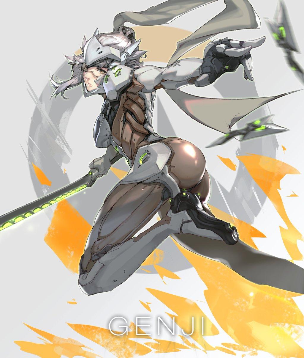 female genji by ���� overwatch know your meme
