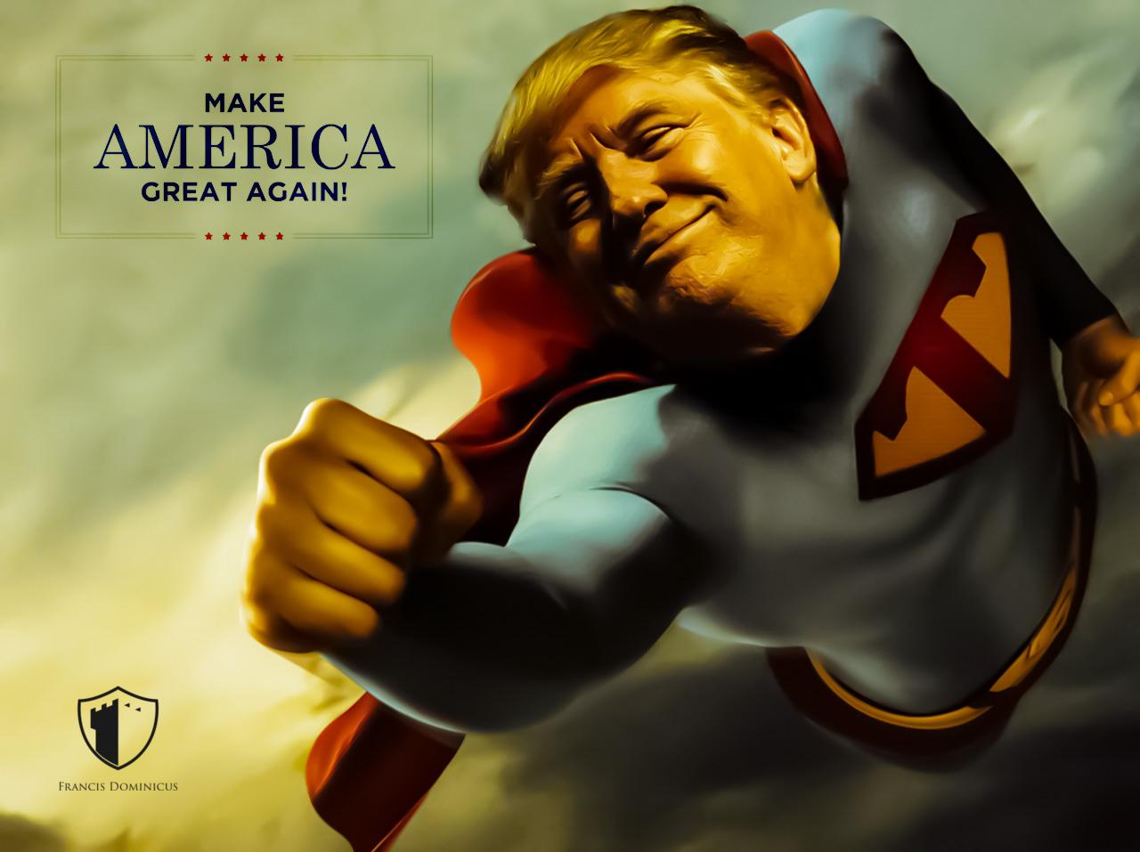 Make america great again donald trump know your meme for Make america great again wallpaper