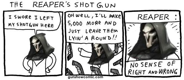 31c reaper's shotgun overwatch know your meme