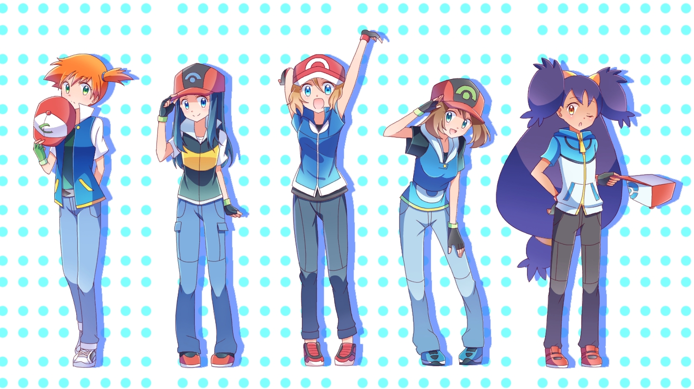 Ash's Companions Dressed as Him | Pokémon | Know Your Meme