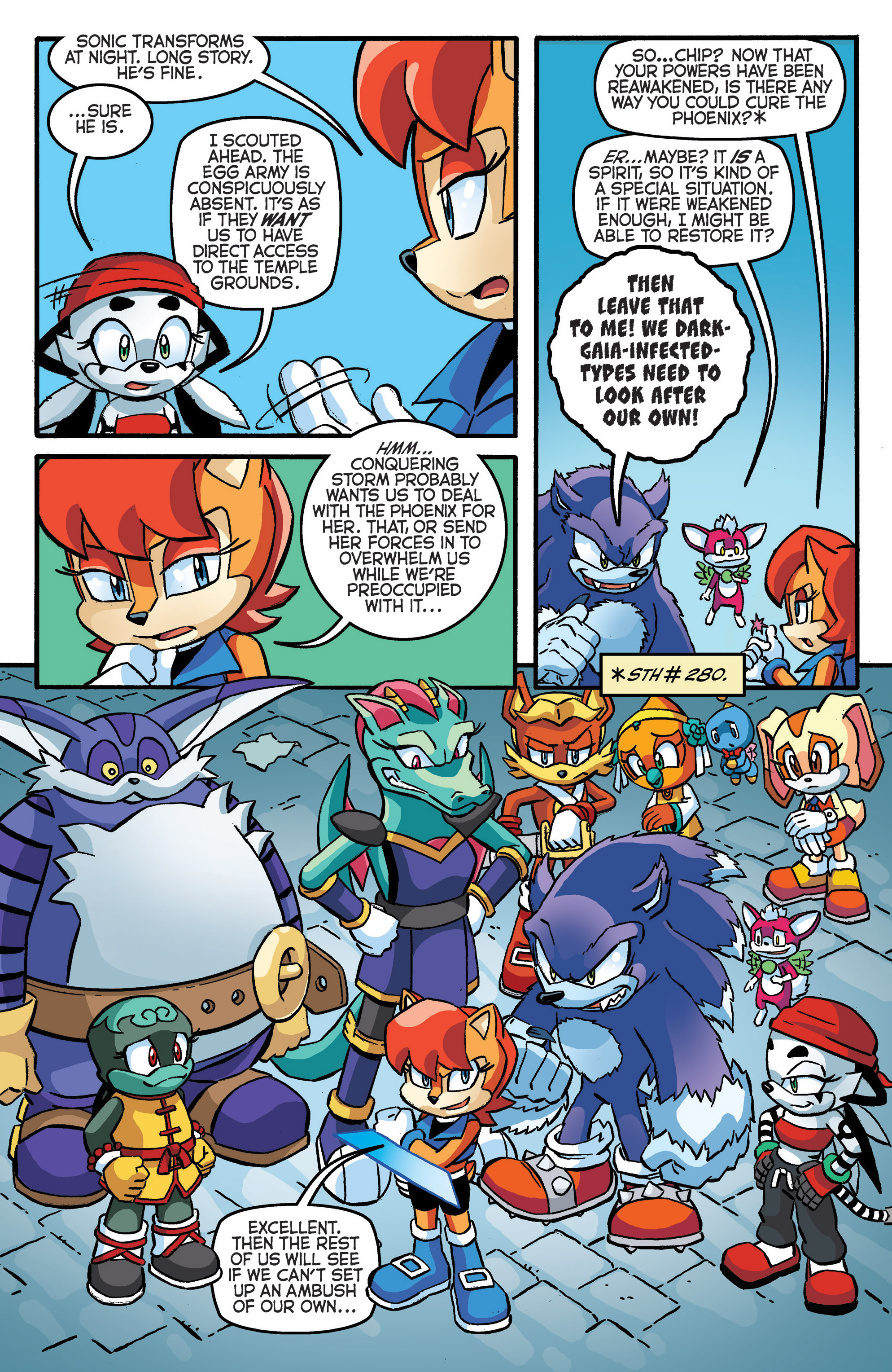 STH #282 - Preview Page 3 | Archie Sonic Comics | Know ...